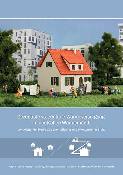 """Aktuelle Studie """"Dezentrale vs. zentrale Wärmeversorgung im deutschen Wärmemarkt"""": Ergebnisse, Ziele, Vorgehensweise"""