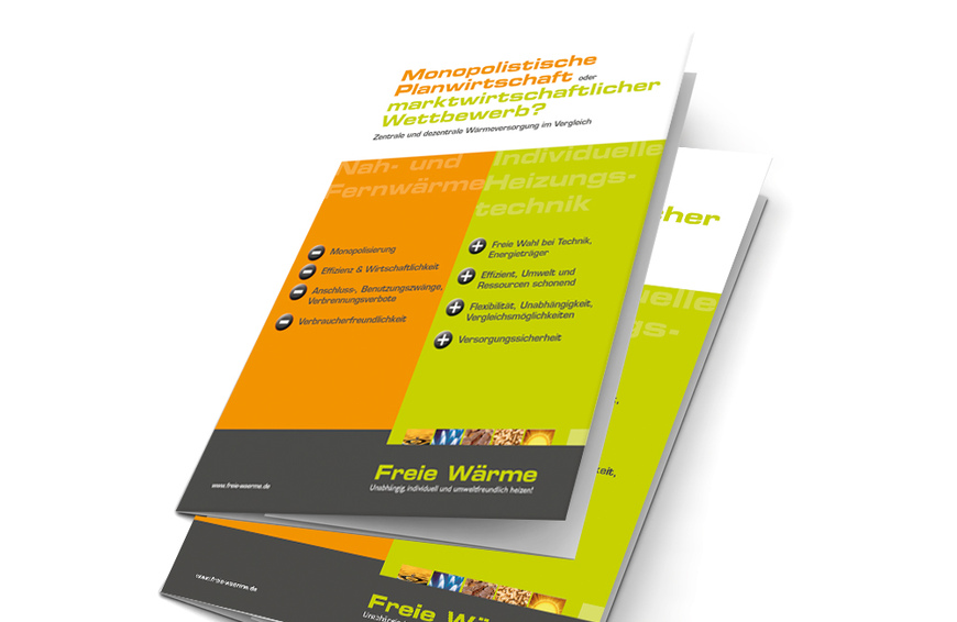 Neue Broschüre Freie Wärme