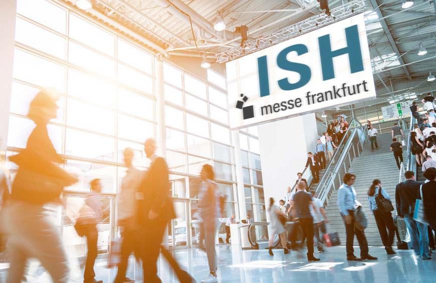 ISH 2019 vom 11. bis zum 15. März in Frankfurt
