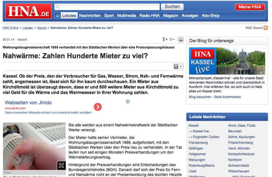 hessisch niedersaechsische allgemeine nahwaerme mieter