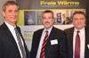 V.l.n.r.: Uniti-Geschäftsführer Dirk Arne Kuhrt; Uniti Hauptgeschäftsführer RA Elmar Kühn; Jürgen Bähr, Allianz Freie Wärme – Foto: Allianz Freie Wärme