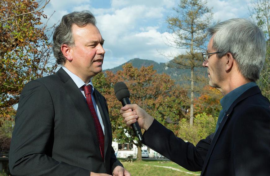 Dr. Wolfgang Schwarz, Hauptgeschäftsführer Fachverband Sanitär-, Heizungs- und Klimatechnik Bayern