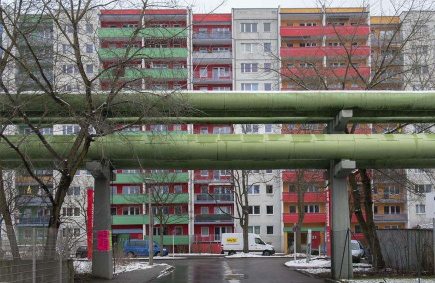 Fernwärmeleitungen in Berlin
