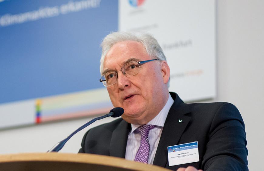 Wärmekonferenz BDH - Manfred Greis