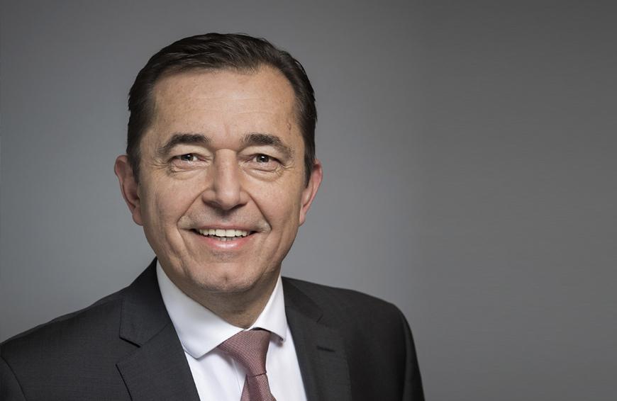 Michael Hilpert, Präsident Zentralverband Sanitär Heizung Klima